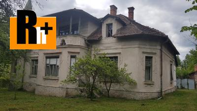 Turčianske Teplice na predaj rodinná vila - TOP ponuka