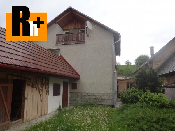 Foto Lúčky stred obce vidiecky dom na predaj - rezervované