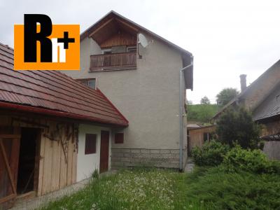 Lúčky stred obce vidiecky dom na predaj