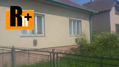 Na predaj Zamarovce rodinný dom