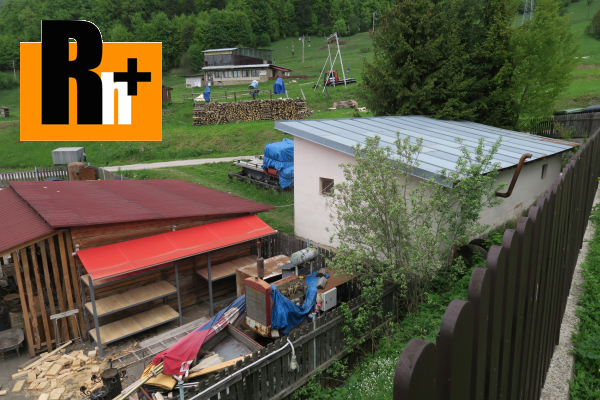 3. obrázok Na predaj zastavané plochy a nádvoria Dedinky - rekreačná oblasť v Slovenskom raji -