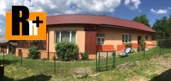 Foto Poproč ul. Mieru na predaj rodinný dom - rezervované