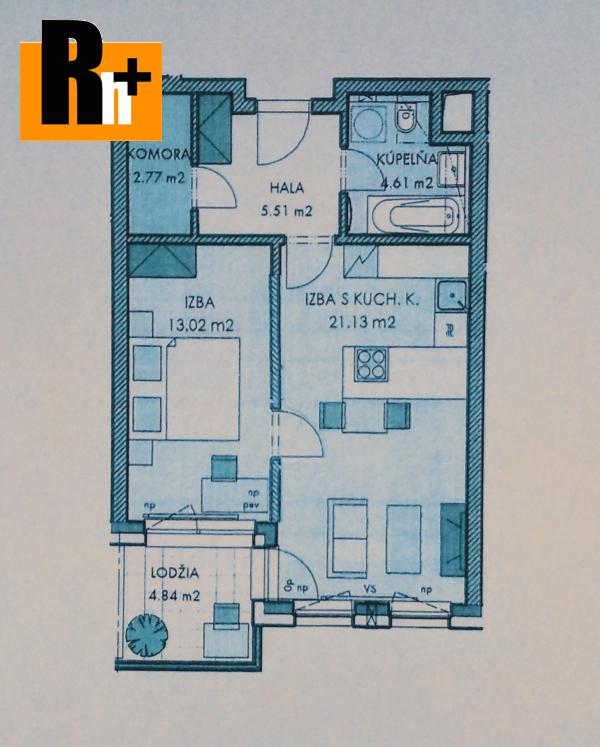 5. obrázok Bratislava-Staré Mesto Šancová Premiére 2 izbový byt na predaj - TOP ponuka