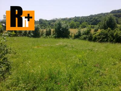 Chocholná-Velčice pozemok pre bývanie na predaj - exkluzívne v Rh+