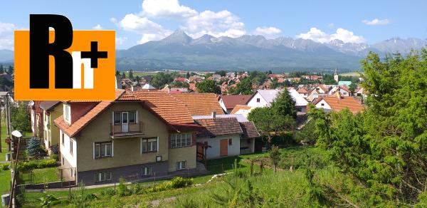 Foto Vysoké Tatry Važec rodinný dom na predaj -