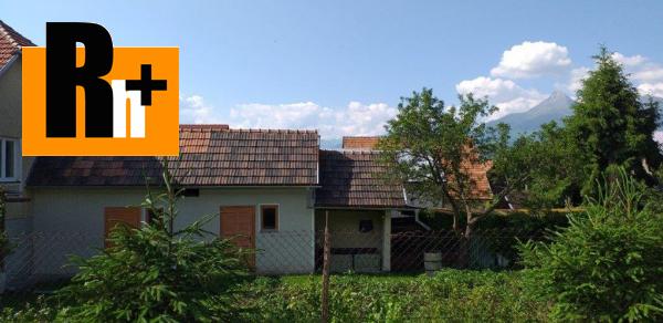 17. obrázok Vysoké Tatry Važec rodinný dom na predaj -