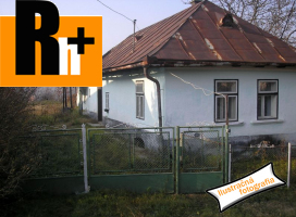 Na predaj rodinný dom Nový Tekov