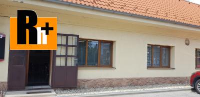 Reštaurácia Smolenice na predaj - TOP ponuka