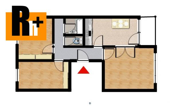 4. obrázok Trenčín Sihoť , na predaj 3 izbový byt - exkluzívne v Rh+