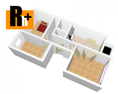 Trenčín Sihoť , na predaj 3 izbový byt - exkluzívne v Rh+ 1