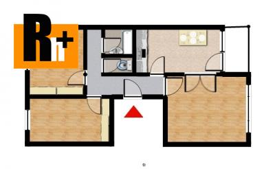 Trenčín Sihoť , na predaj 3 izbový byt - exkluzívne v Rh+ 3