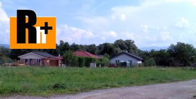 Pozemok pre bývanie na predaj Bojnice - 974m2 - exkluzívne v Rh+