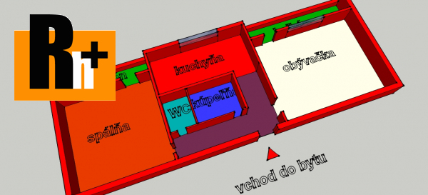 Foto Kláštor pod Znievom 2 izbový byt na predaj - TOP ponuka