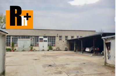 Na predaj priemyselný areál Bratislava-Nové Mesto Nobelová: investičná príležitosť - exkluzívne v Rh