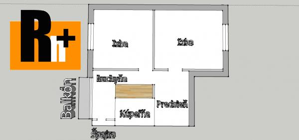 Foto 2 izbový byt na predaj Žilina Vlčince 60m2 pôvodný stav - TOP ponuka