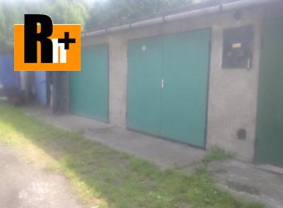 Na prodej garáž Ostrava Slezská Prokopská - ihned k dispozici