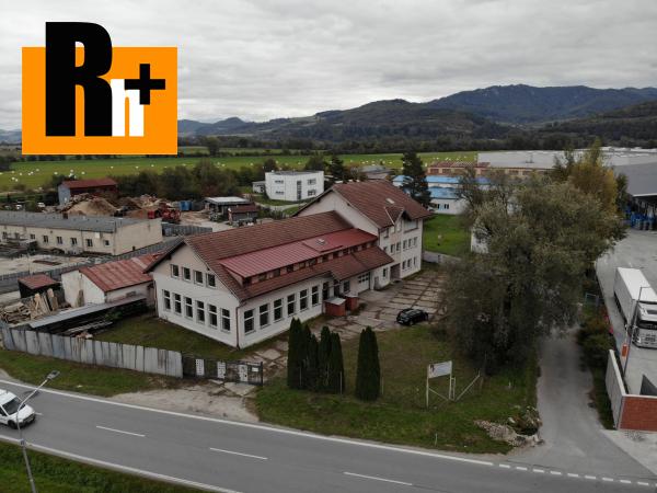 Foto Priemyselný areál na predaj Bytča 1567m2 - exkluzívne v Rh+