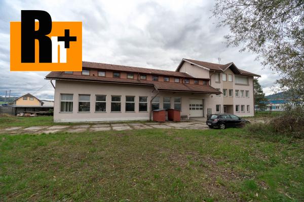 4. obrázok Priemyselný areál na predaj Bytča 1567m2 - exkluzívne v Rh+