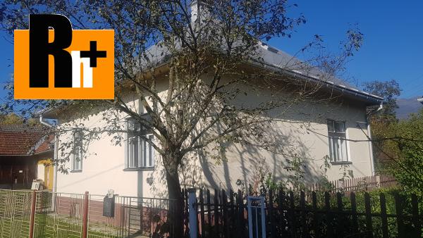 1. obrázok Krpeľany rodinný dom na predaj - exkluzívne v Rh+