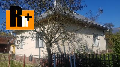 Krpeľany rodinný dom na predaj - exkluzívne v Rh+