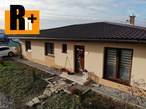 Foto Na predaj Žilina Mojš 4i novostavba rodinný dom - exkluzívne v Rh+