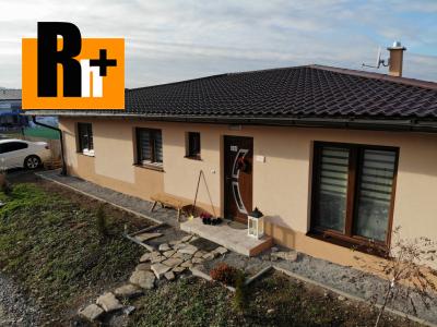 Na predaj Žilina Mojš 4i novostavba rodinný dom - exkluzívne v Rh+