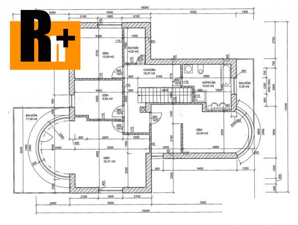 19. obrázok Rodinný dom na predaj Čadca 1872m2 - TOP ponuka