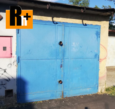 Na prodej garáž Ostrava Moravská a Přívoz Cihelní - osobní vlastníctvi