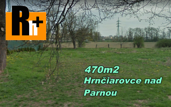 Foto Pozemok pre bývanie Hrnčiarovce nad Parnou na predaj - ihneď k dispozícii