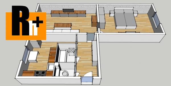 Foto Trnava Nerudova 2 izbový byt na predaj - čiastočne prerobený