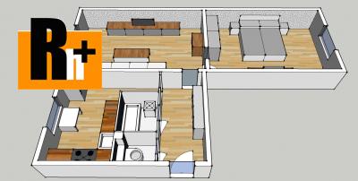 Trnava Nerudova 2 izbový byt na predaj - čiastočne prerobený