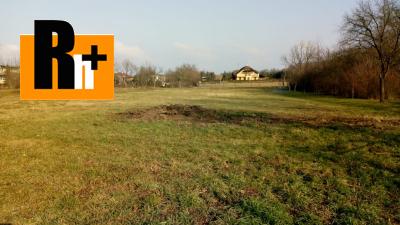 Na predaj pozemok pre bývanie Dolné Srnie - TOP ponuka