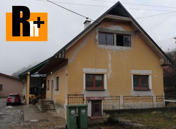 Foto Na predaj rodinný dom Dolný Hričov Peklina - tehlová stavba