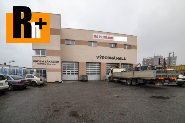 Foto Výrobné priestory na predaj Žilina pozemok 1624m2 - exkluzívne v Rh+