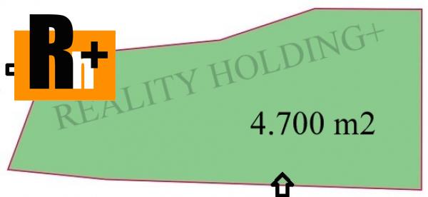 Foto Handlová pozemok pre bývanie na predaj - 4700m2