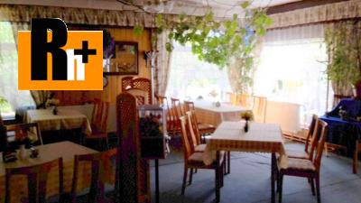 Reštaurácia Bojnice s pozemkom na predaj - 470m2