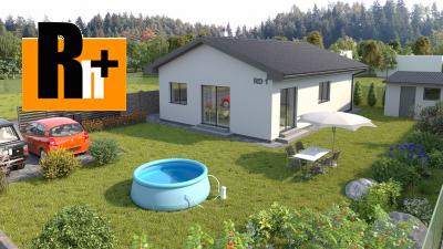 Na predaj Brezany 4-izbový bungalov rodinný dom - exkluzívne v Rh+