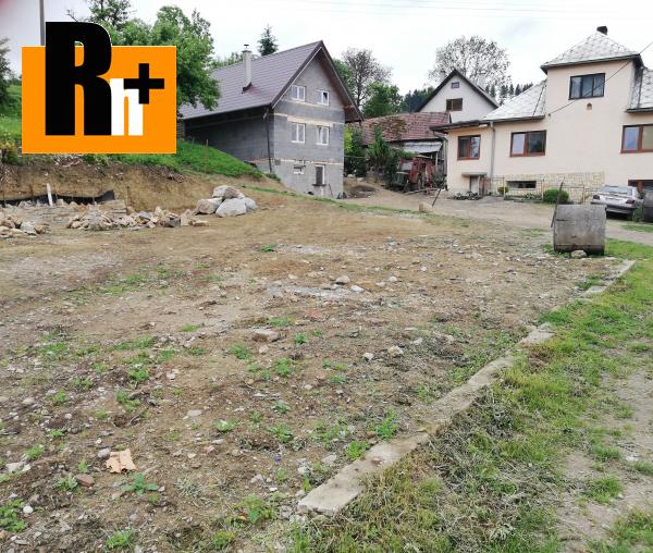 Foto Dolný Hričov Peklina pozemok pre bývanie na predaj