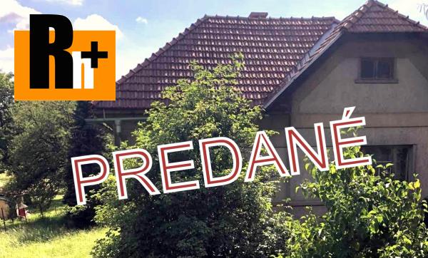 Foto Vidiecky dom Horná Mičiná s veľkým pozemkom na predaj - rezervované