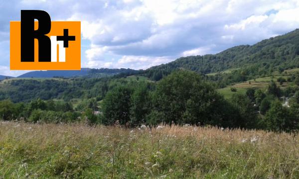 Foto Žilina Terchová na predaj pozemok pre bývanie - TOP ponuka
