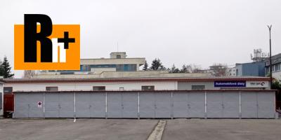 Na prenájom garáž jednotlivá Prievidza Necpaly - 18m2
