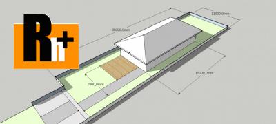 Pozemok pre bývanie na predaj Rosina 816m2 - exkluzívne v Rh+