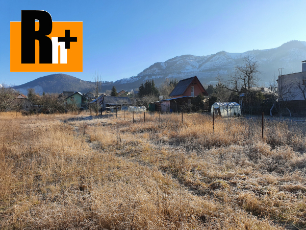Foto Na predaj pozemok pre bývanie Stráňavy 1000m2 - rezervované