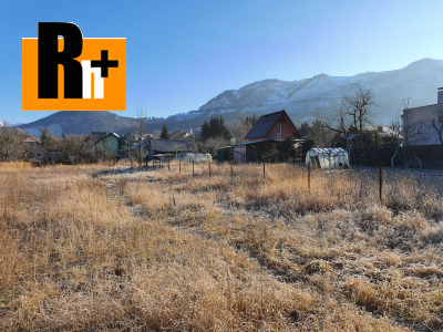 Na predaj pozemok pre bývanie Stráňavy 1000m2 - exkluzívne v Rh+
