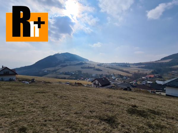 Foto Kotrčiná Lúčka 767m2 na predaj pozemok pre bývanie - exkluzívne v Rh+