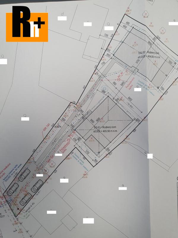 Foto Na predaj pozemok pre bývanie Krasňany so stavebným povolením pre 2 domy