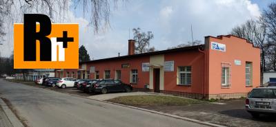 Ostrava Zábřeh komerční objekt na prodej - s garáží