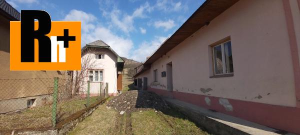 Foto Rodinný dom Sklabiňa na predaj - TOP ponuka