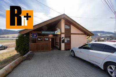 Reštaurácia na predaj Maršová-Rašov s ubytovaním - TOP ponuka