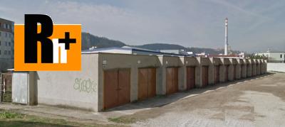 Trenčín Pred poľom garáž jednotlivá na predaj - exkluzívne v Rh+